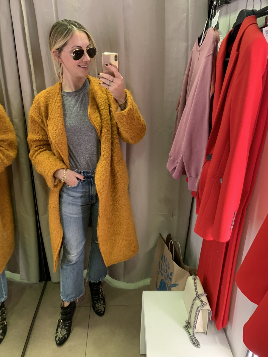 Tuesday: Ray-Ban Aviators, Elizabeth and James Coat (similar here), The Great Shirt, Citizens of Humanity Jeans, Chloe Boots (similar here)