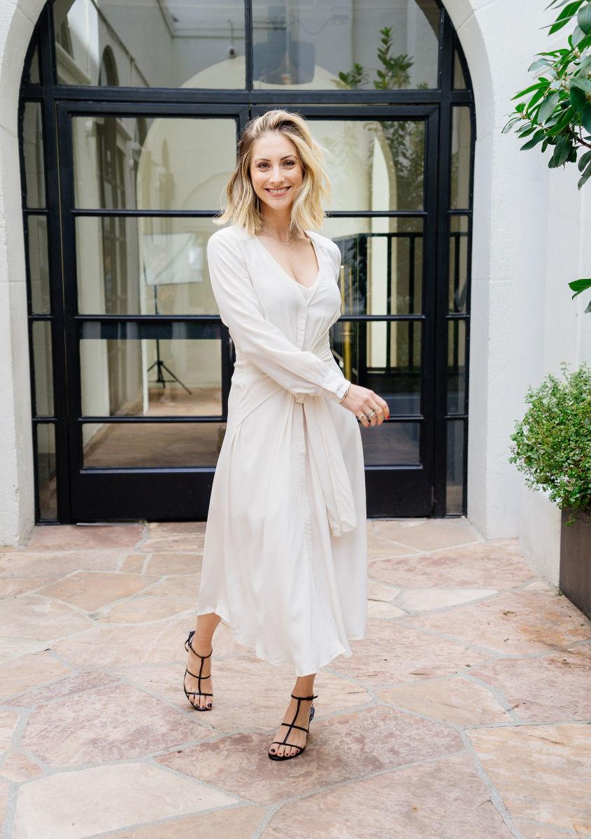 ASTR Dress, Zara Heels (similar here)
