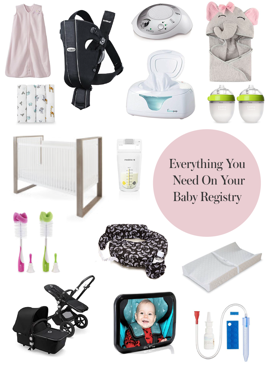Everything You Need On Your Baby Registry (Including the One Thing