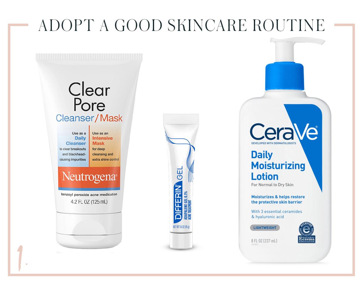 kelly skincare routine