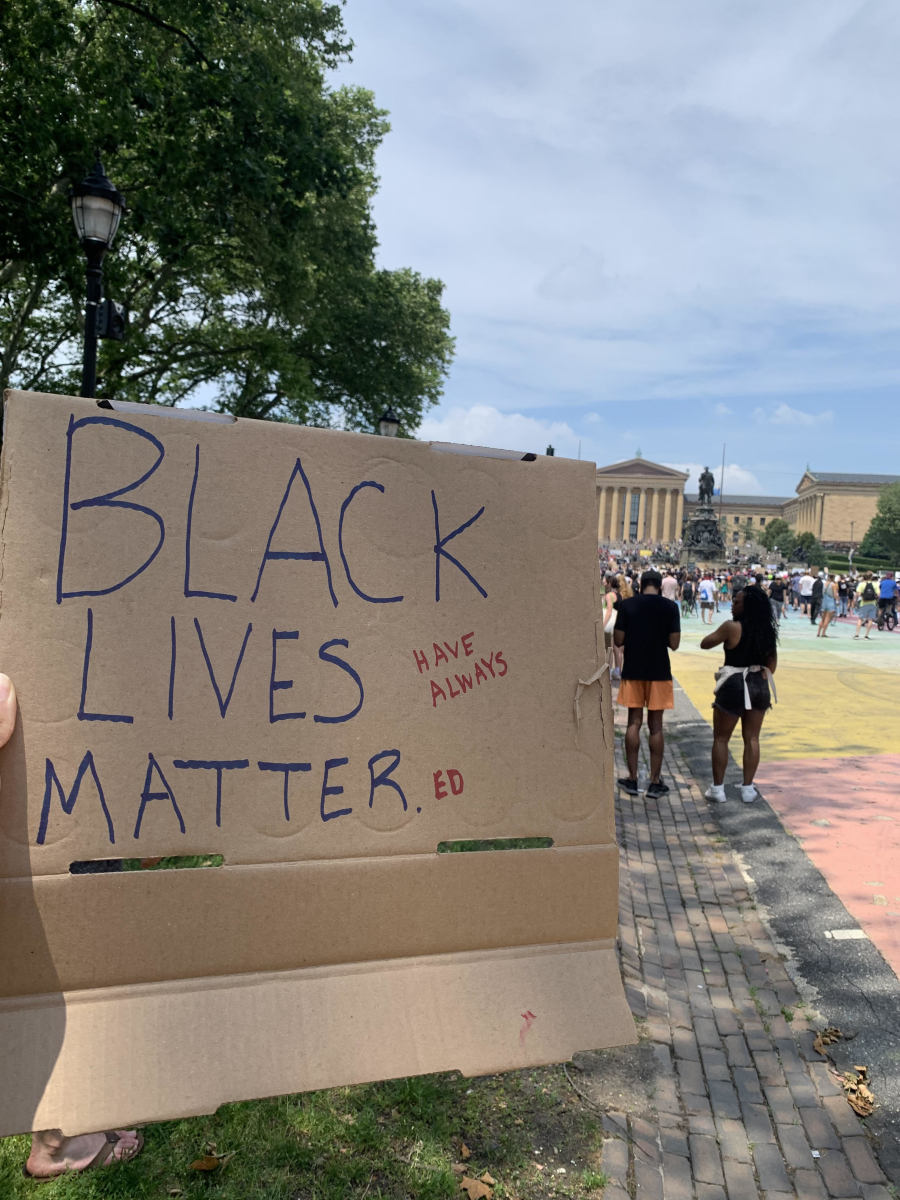 My own Black Lives (Have Always) Matter(ed) sign