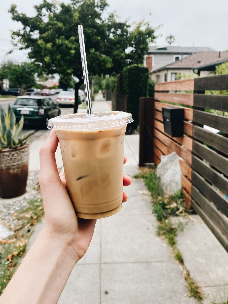 My weekly caffeinated indulgence from Superba – I can't wait for coffee shops to begin accepting reusable cups again