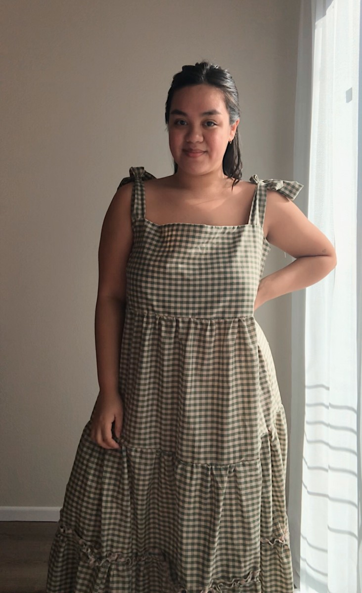 Dress I made using this tutorial and deadstock fabric.