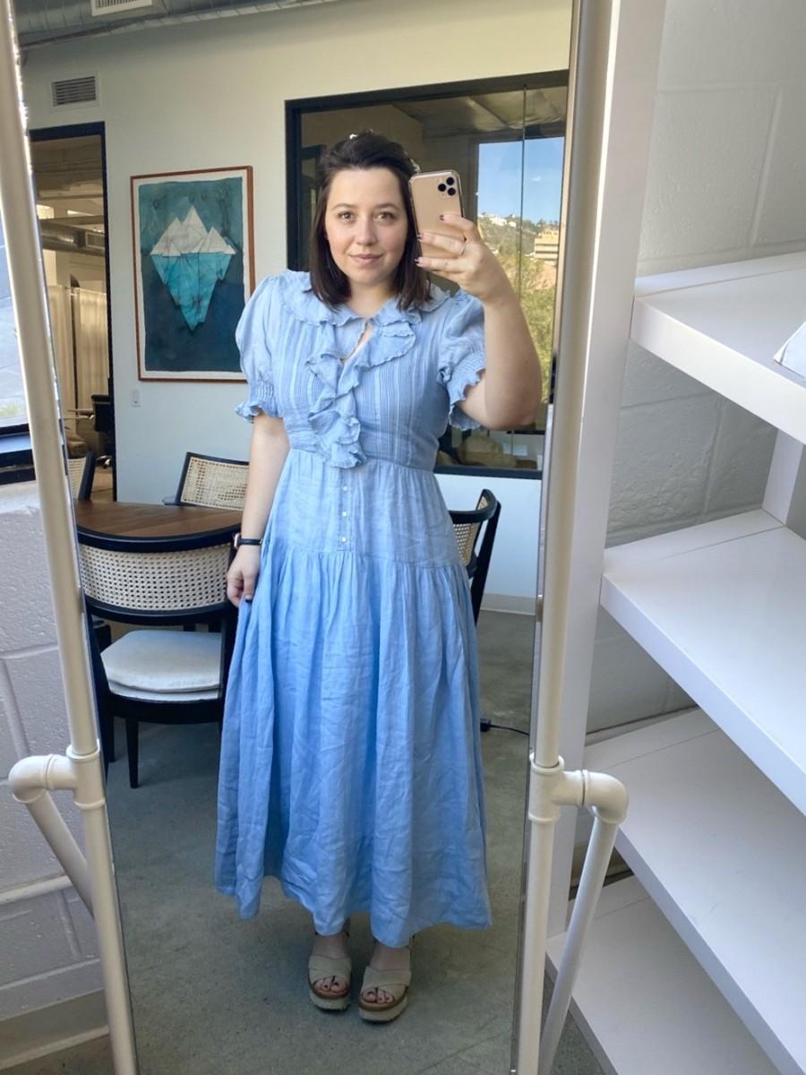 Wednesday: Doen Dress (similar here), Joie Platforms (similar here)