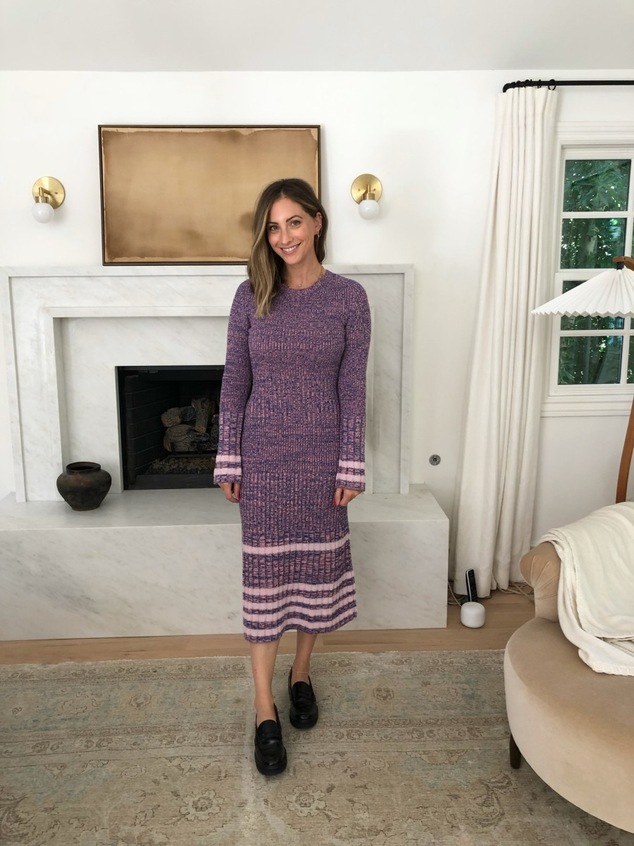 Rachel Comey Dress, Reformation Loafers
