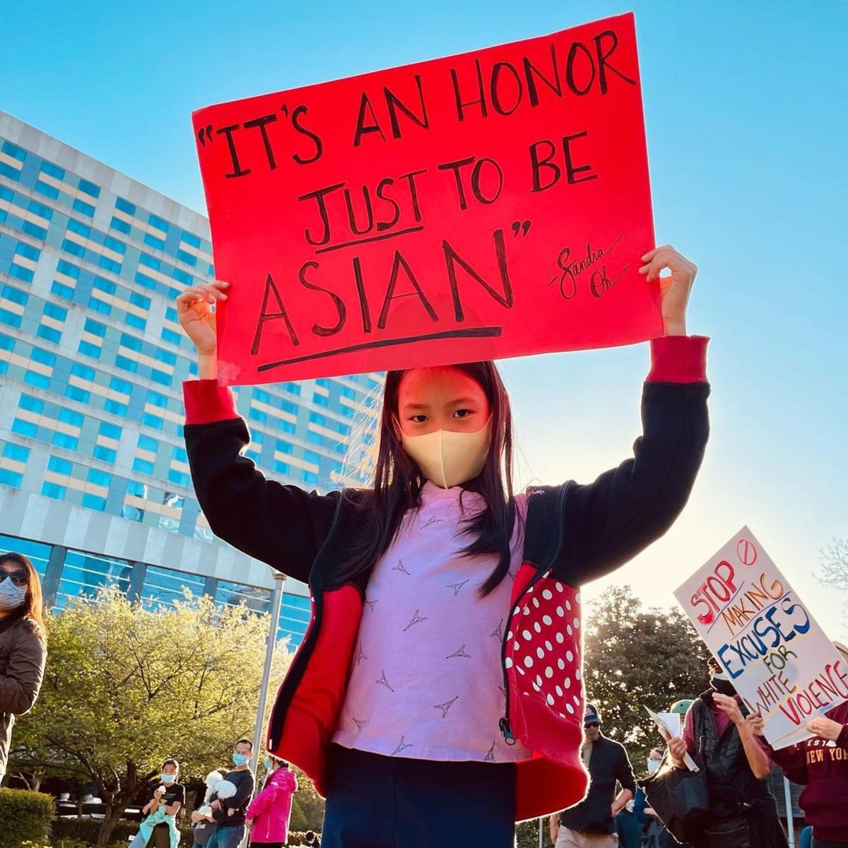 Photo of Jenny Wang's daughter, reposted here with her permission. Follow Jenny at @asiansformentalhealth.