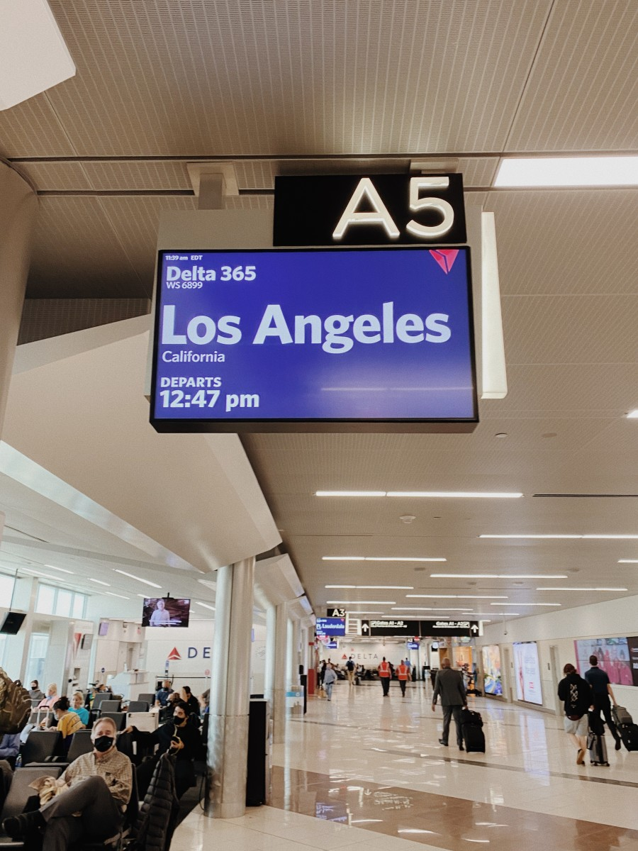 Goodbye Atlanta, hello LA!