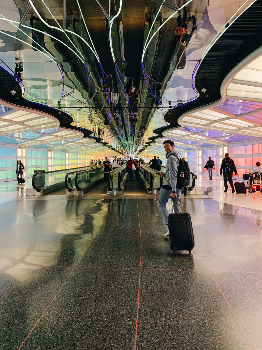 If you've ever been to O'Hare, you know this spot very well.