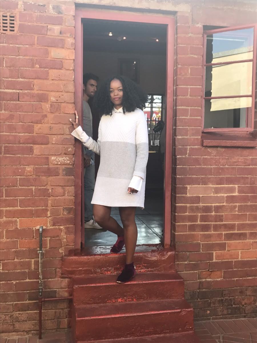 At Mandela and Winnie Madikizela-Mandela's Soweto home