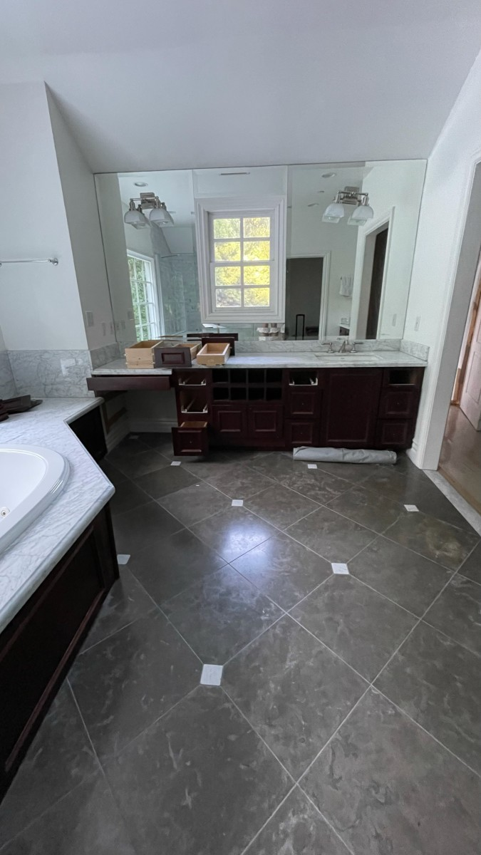 Our bathroom, before