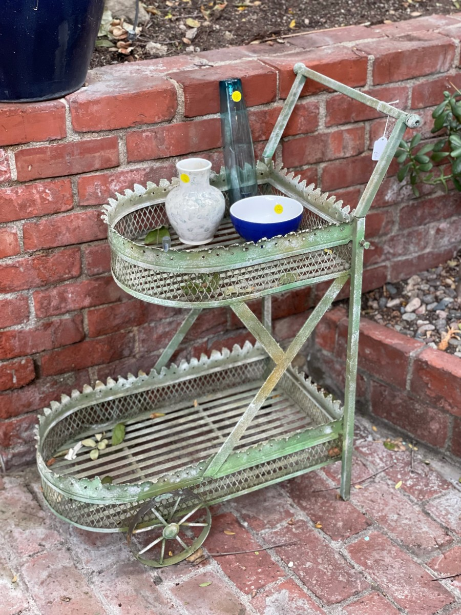 An outdoor cart I considered for our front yard